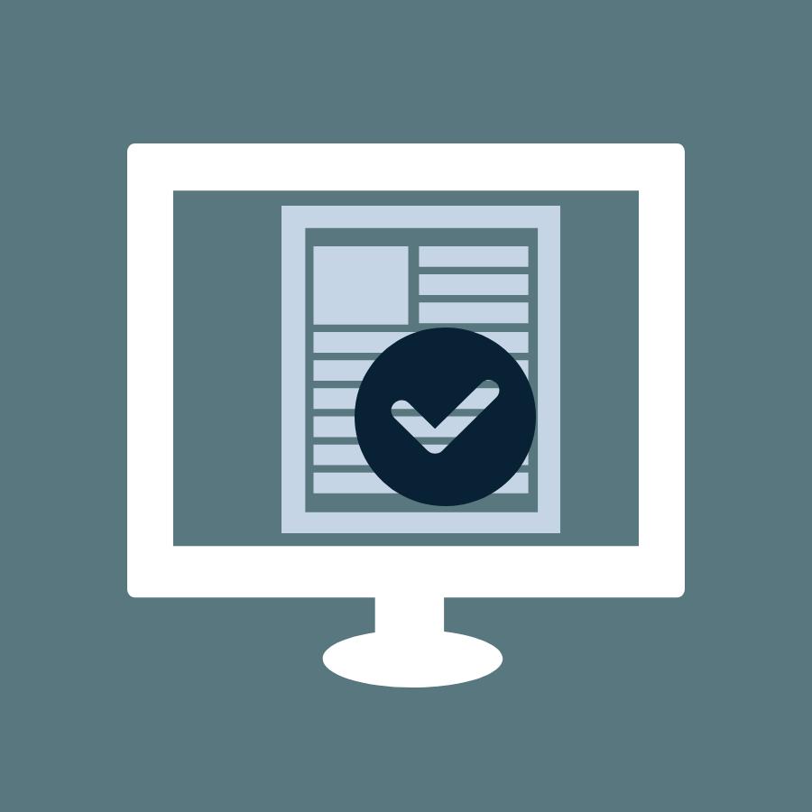Icon Controlling Aktuelle Daten, Datenqualität