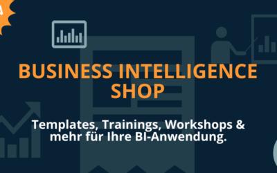 Neu: Business Intelligence Shop von ANIGMA