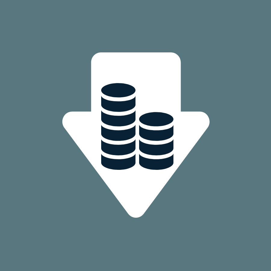 Icon Einkauf kosten senken durch BI
