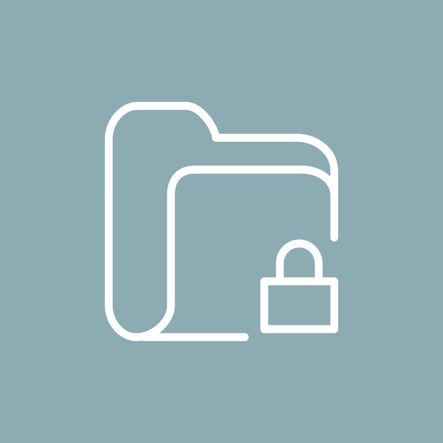 Icon Personalwesen Datenschutz