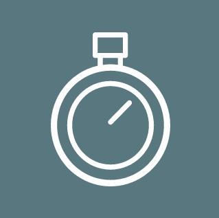 Icon Mehr Zeit, Datenqualität